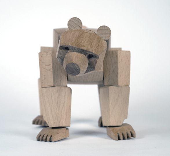 sculpture bear home decoration