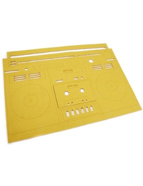 plate pad inspired by tape recorder