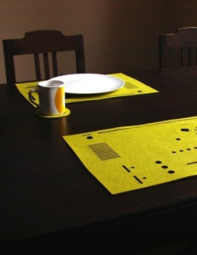 tape recorder pads kitchen accessory