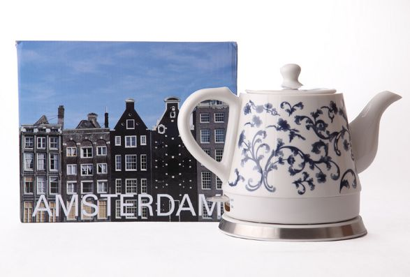 amsterdam ceramic electric kettle by haen
