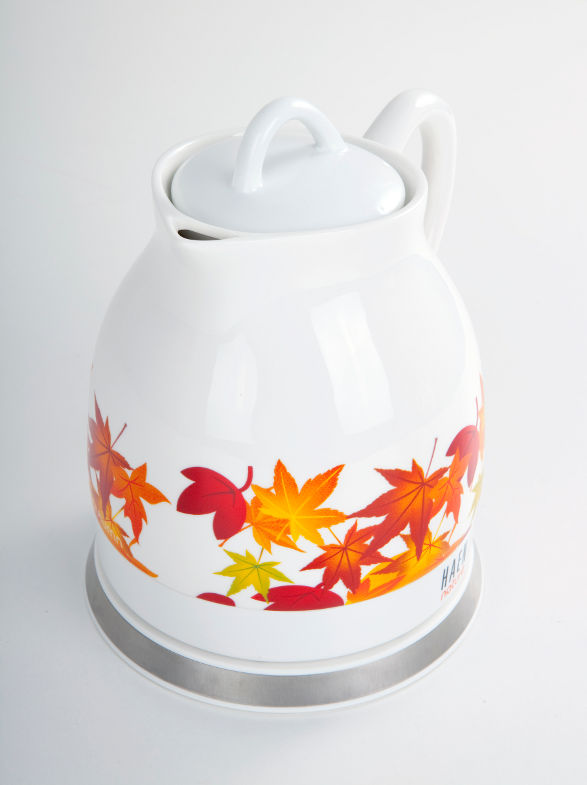 autumn ceramic electric kettle by haen