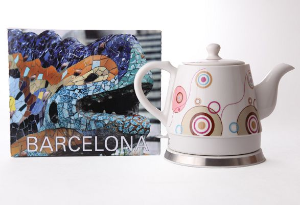 bercelona ceramic electric kettle by haen