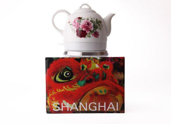 shanghai ceramic electric kettle by haen