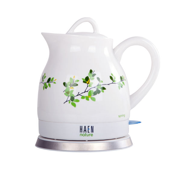 spring ceramic electric kettle by haen