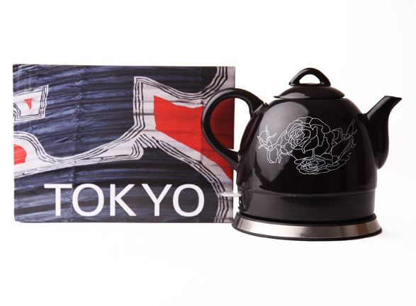 tokyo ceramic electric kettle by haen