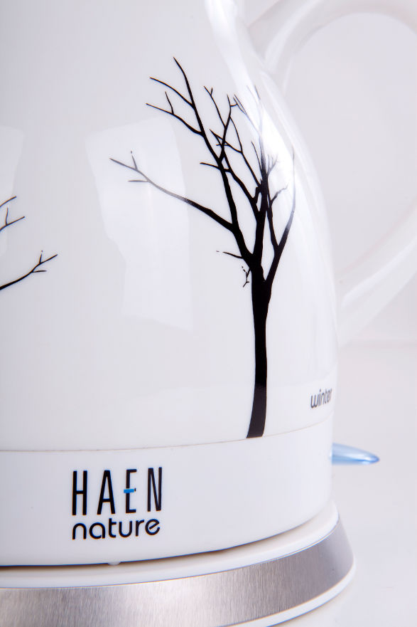 winter ceramic electric kettle by haen