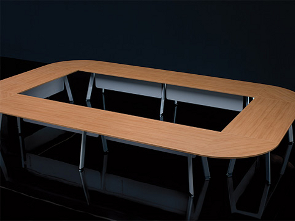 simplic conference table by piotr kuchcinski