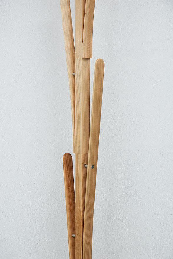 split coat hanger by paweł jasiewicz