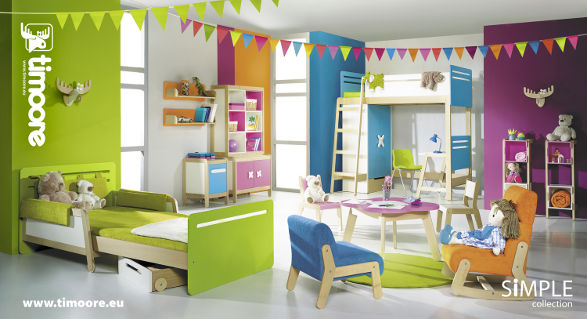 simple collection by timoore furniture for child's room