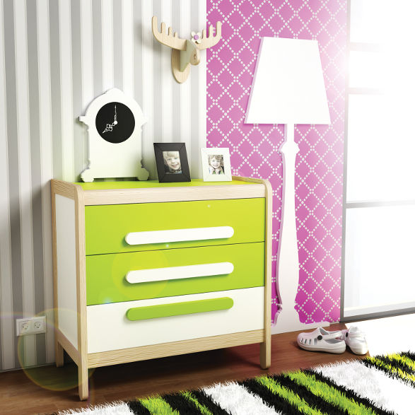three drawer chest for children simple collection by timoore