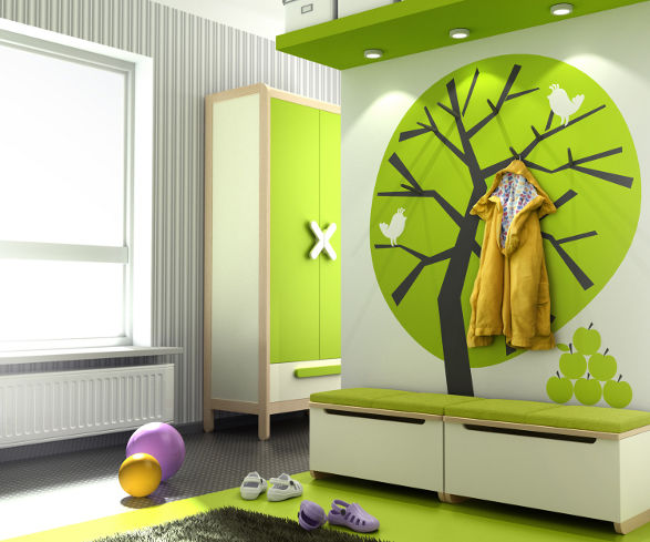 wardrobe and toy box for kid's room simple collection by timoore