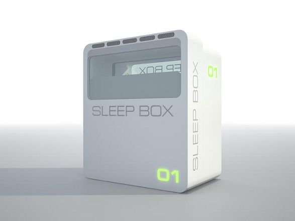 sleepbox back exterior