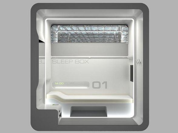 sleepbox by arch group mini room for rest