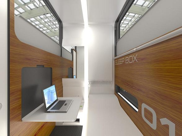 sleepbox mini room for rest by arch group