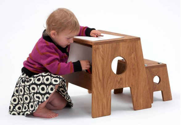 COLLECT FURNITURE STOOLESK TABLE FOR CHILDREN