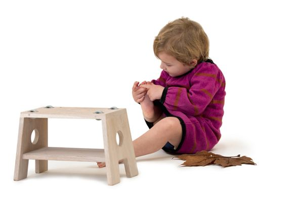 stool for children by frederic collette