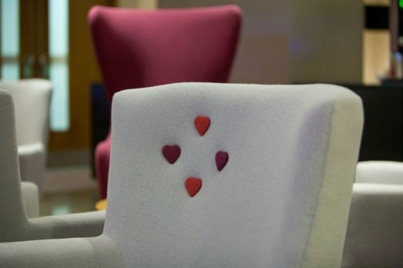 love chair with lovely details