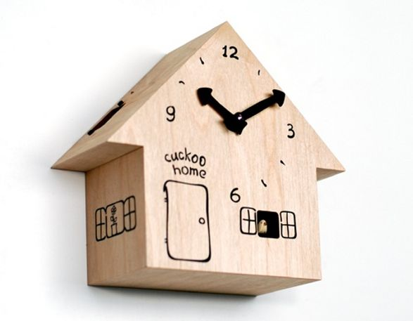 CUCKOO funny clock