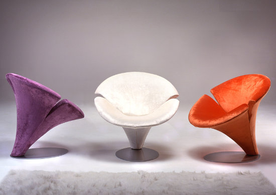 flower chairs inspired by spirng flowers