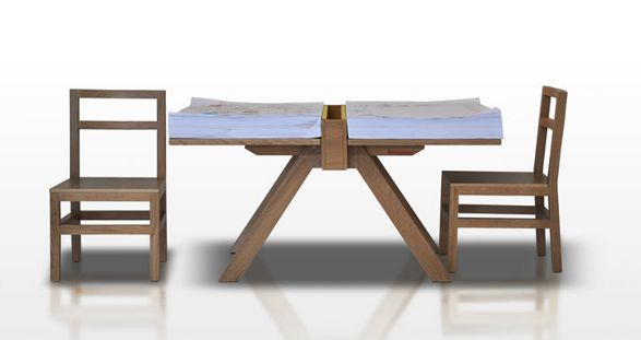 cuscino and foglio domodinamica table for children
