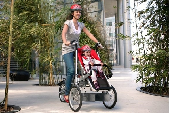 taga bike and stroller in one