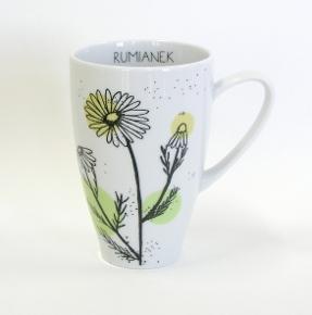 camomile tea mug by kristoff fine porcelain