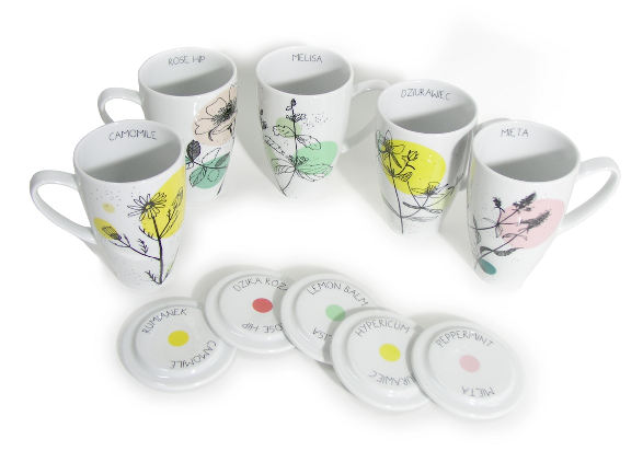 HERBAL COLLECTION for tea enthusiasts by agnieszka dybowska