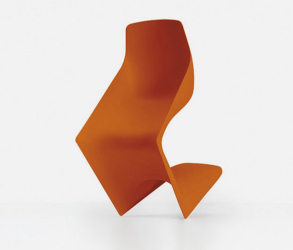 pulp chair by kristalia inspired by panton chair