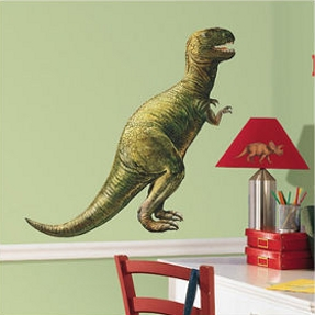 dino giant wall stickers for kid's room