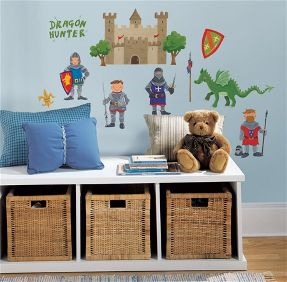 dragon hunter wall stickers for kid's room