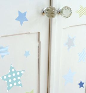 stars wall stickers for kid's room