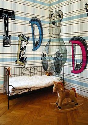 gugu gaga wallpaper for kids room