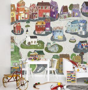 joyville wallpaper for kids room