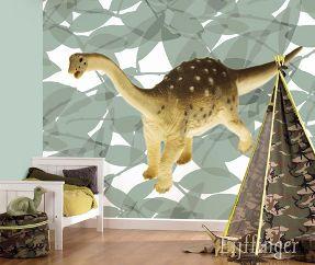 helo dino wallpaper for boys room