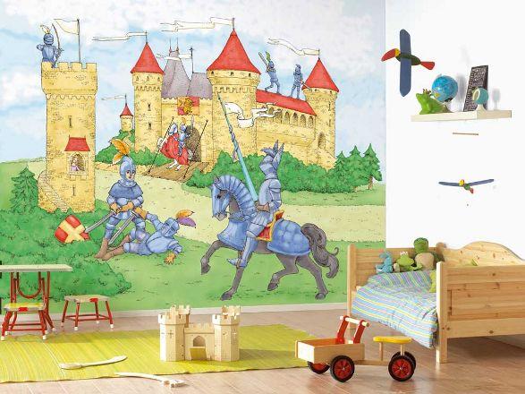 lancelot wallpaper for boys room
