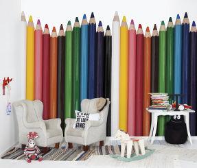pen pal wallpaper for kids room