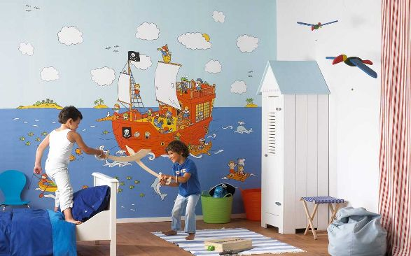 The finest wall decorations for kid 39 s room wallpapers for Wallpaper for childrens room