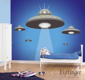 ufo wallpaper for boys room