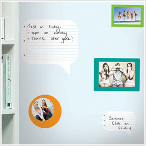 notepad wall decoration for kid's room