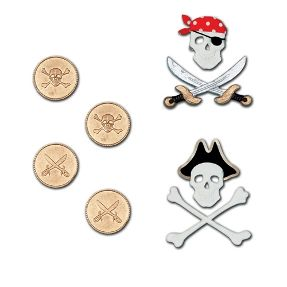pirates wall charmes for boy's room