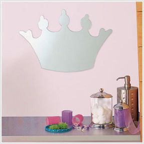 princess mirror for girl's room