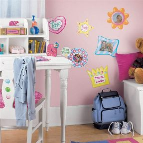 wall frames stickers for girl's room