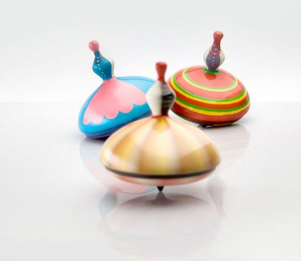 spinning top official gadget of polish presidency