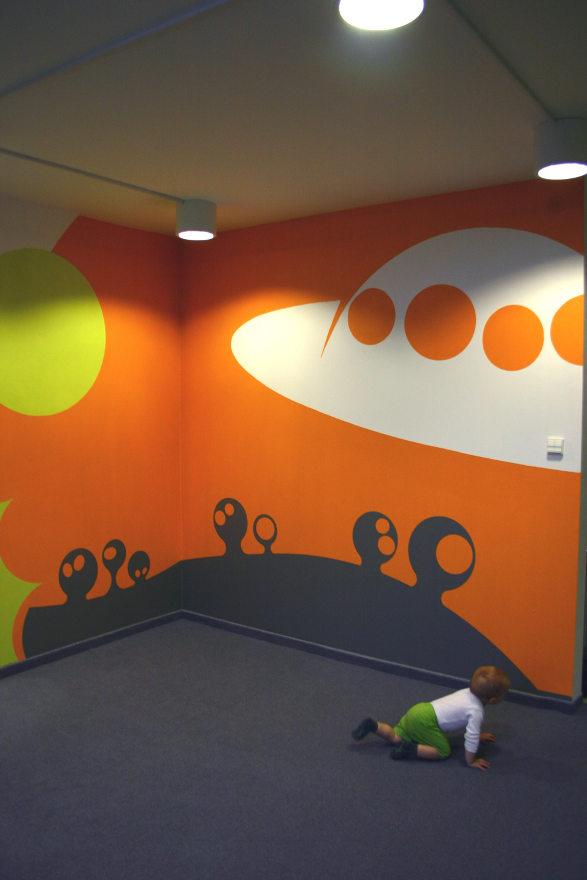 baby city nursery mars room