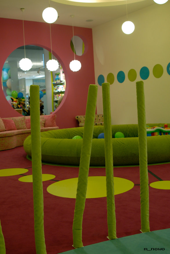 edukado kids club interior by xystudio