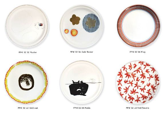 main course plates by marcel wanders different elements of set