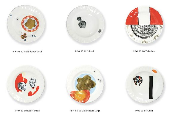 soup plates by marcel wanders different elements of collection