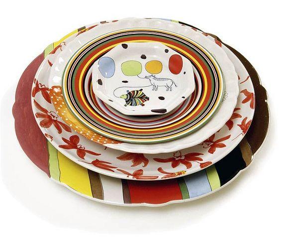 Ticheraal collection of random plates by MArcel Wanders