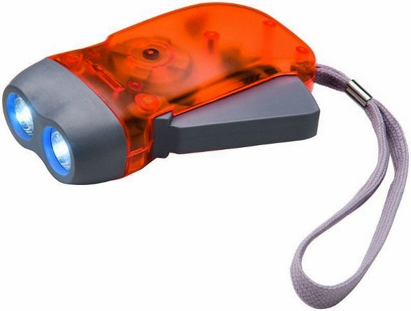 eco friendly LED torch flashlight with dynamo