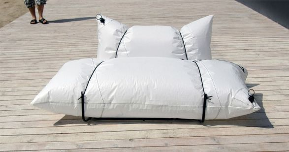 Blow Sofa Extreme sofa for outdoor use by malafor